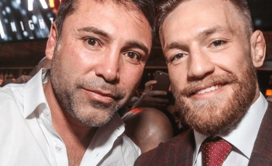 Conor McGregor kész felvenni a boxkesztyűt Oscar De La Hoya ellen