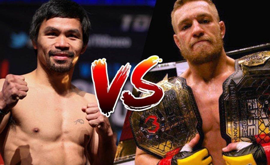McGregor belengette a Pacquiao elleni bokszmeccsét