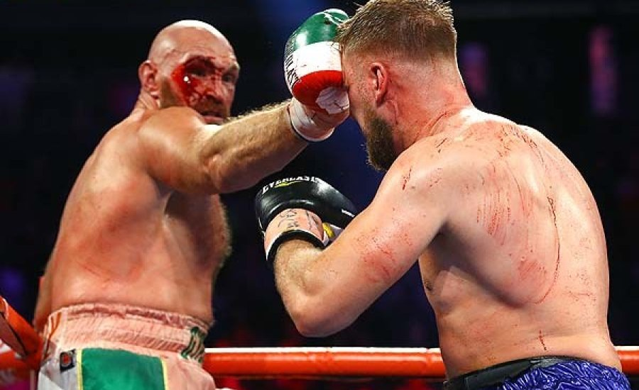 Tyson Fury véres sikere