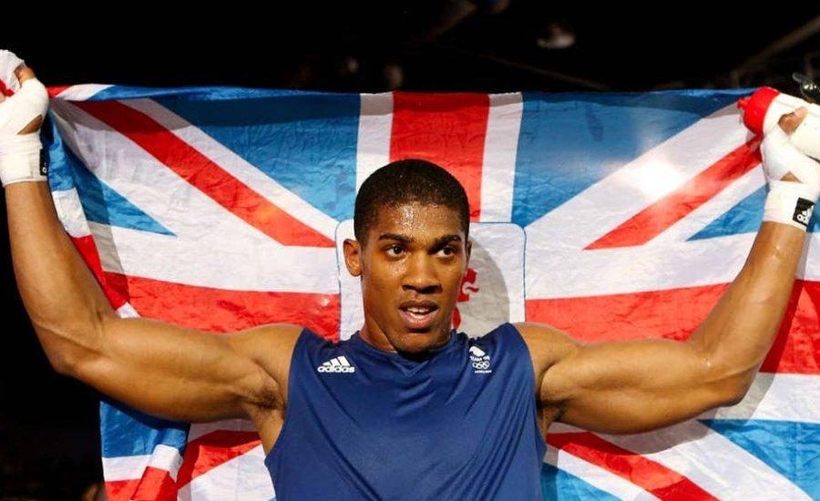 Anthony Joshua olimpiai aranymeccse