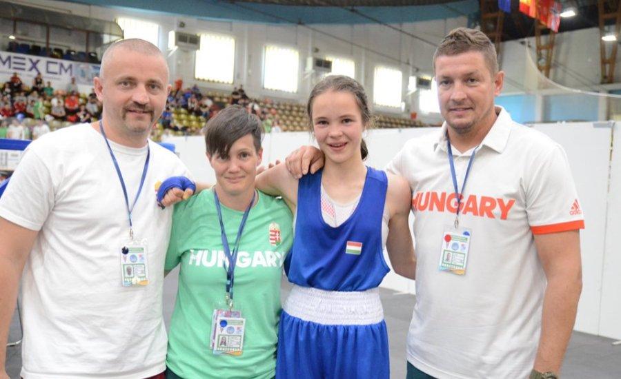 Három magyar Eb-érem a junioroknál