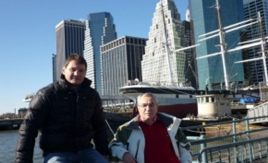 Erdei Zsolt megérkezett New Yorkba