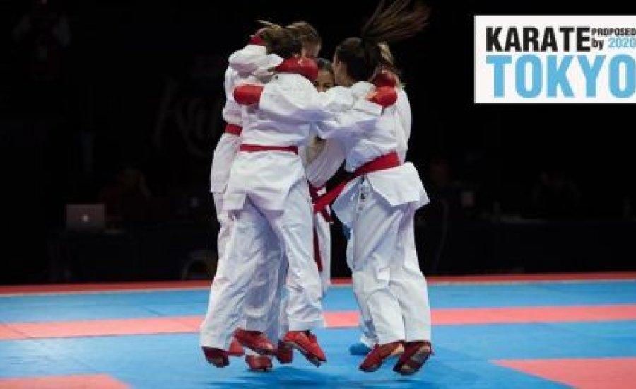 Ott lesz a karate a tokiói olimpián