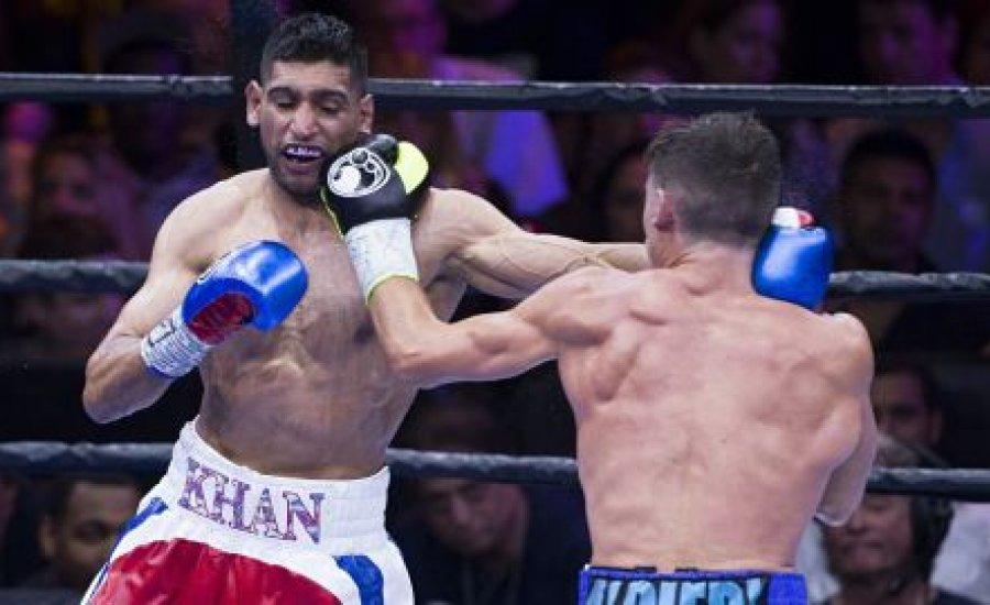 Amir Khan legyőzte Algierit