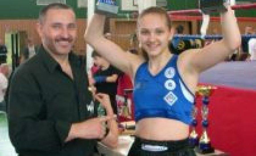 Éltető Daniella győzött a német K-1 bajnokságban is