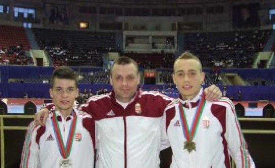 Kapdebó ezüstérmes, Szegedi bronzérmes, Nagy ötödik az Eb-n
