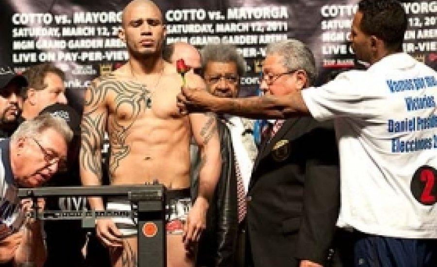 Cotto - Mayorga: műsor után végre boksz