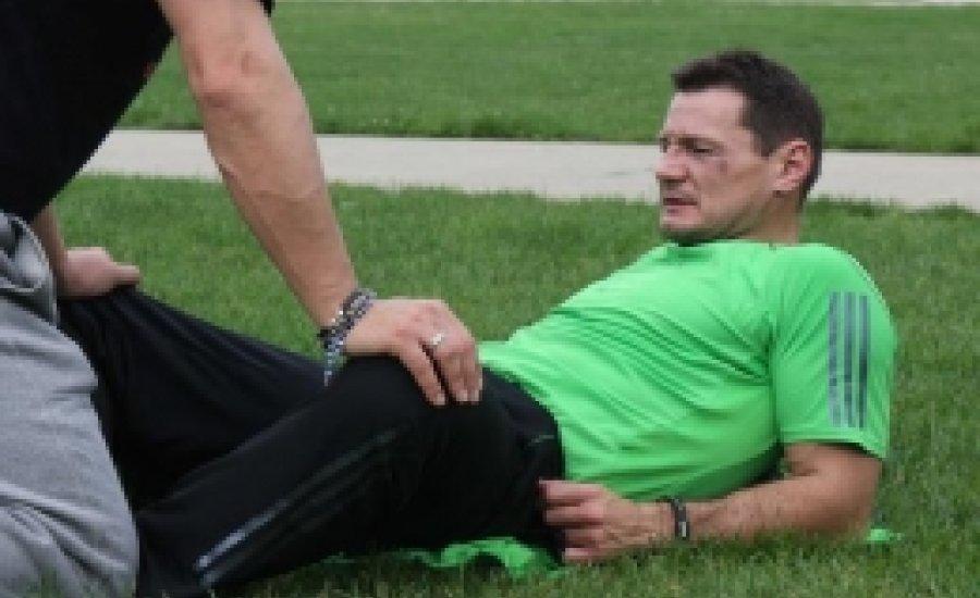 Erdei Zsolt Amerikában - Futás és stretching