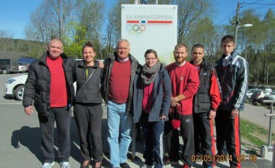 A norvég Olimpiai Faluban már ott vagyunk