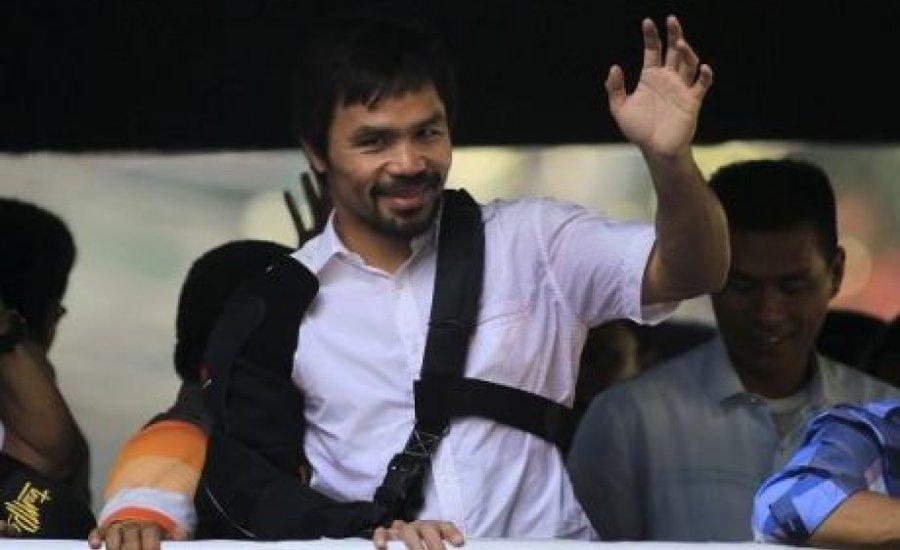 Manny Pacquiao: büntessék meg Floyd Mayweathert