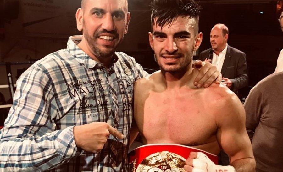 Német ifjúsági IBF bajnok menedzsere lett Perutek János