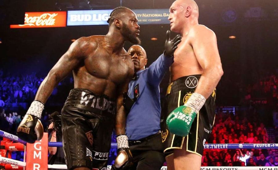 Tyson Fury Wildert hibáztatja