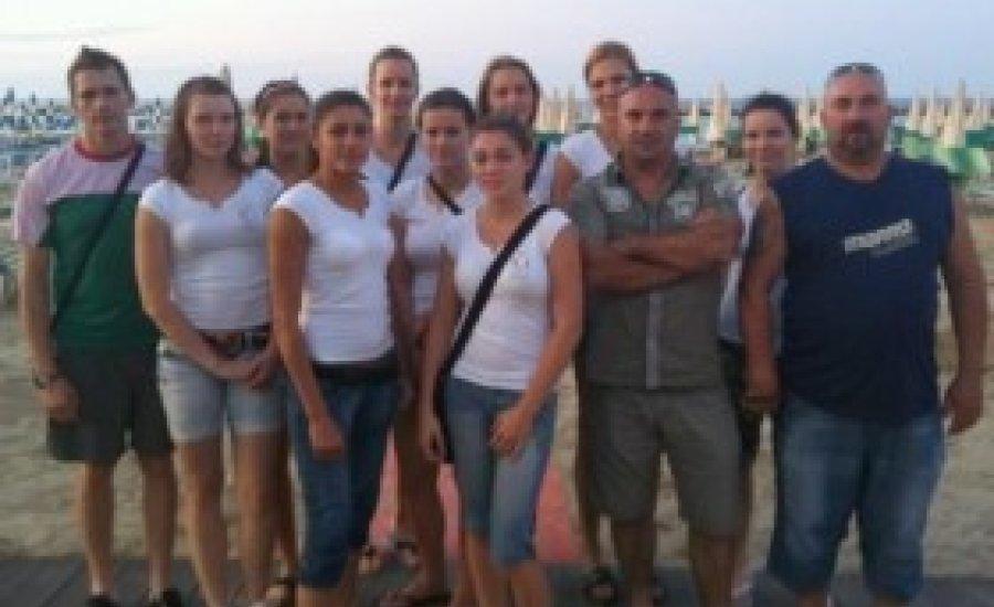 Olaszországban bokszoltak lányaink