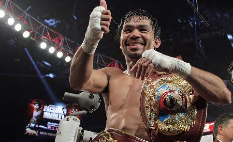 Hivatalos: visszatér Manny Pacquiao