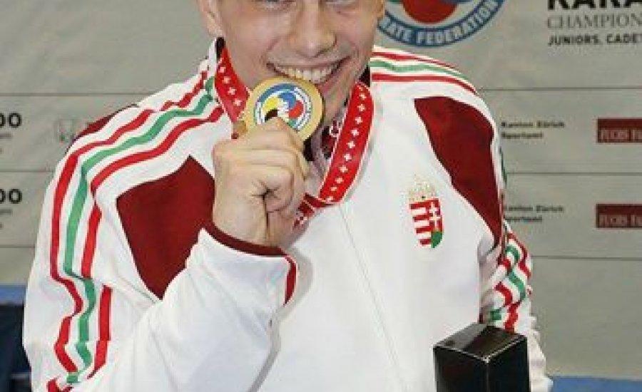 Hárspataki Gábor karate Európa-bajnok