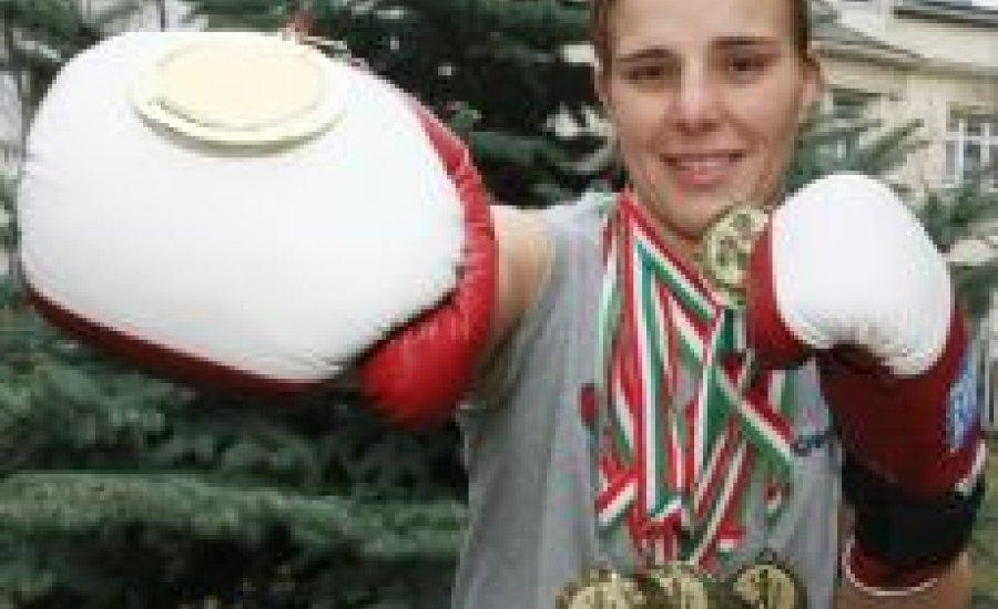 Kovács Mária, a verhetetlen bokszkirálynő