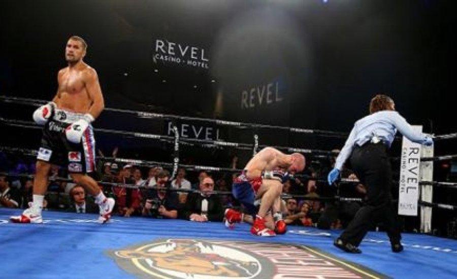 Kovaljov padlóról nyert Caparello ellen