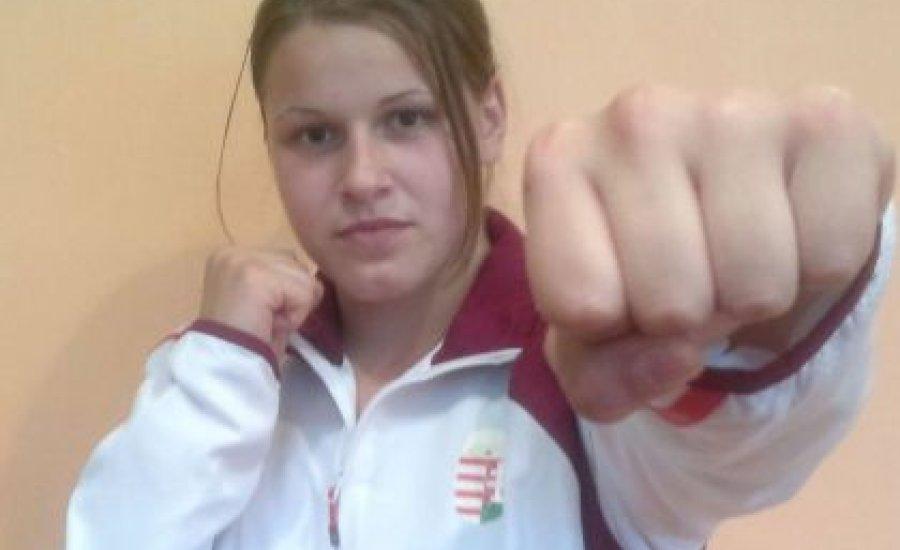 Szatmári Petra Európa-bajnoki bronzérmes