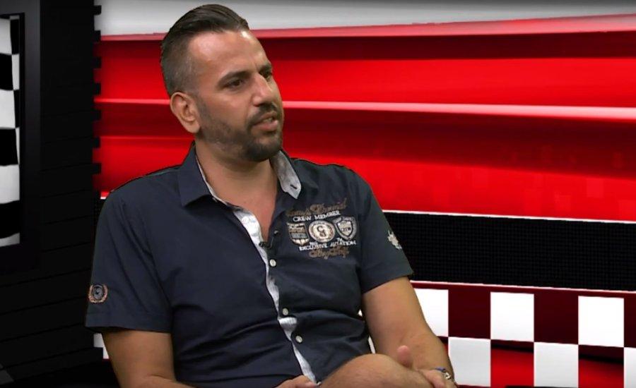 Perutek János volt a Dino Sporthiradó vendége