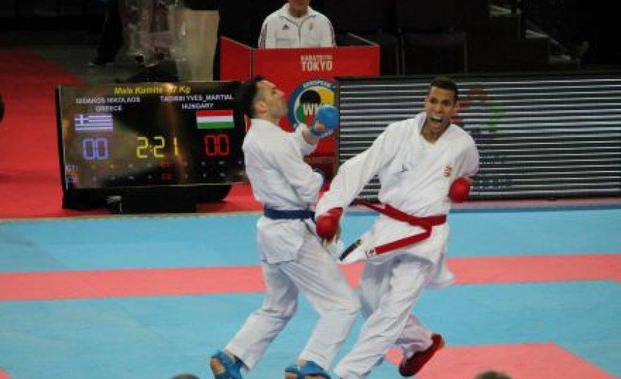 Tadissi bronzérmes a karate Premier League-ben