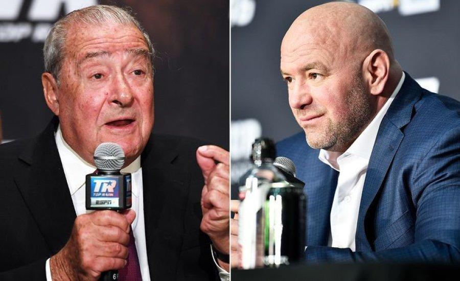 Bob Arum szerint Dana White szarul fizeti az MMA harcosokat