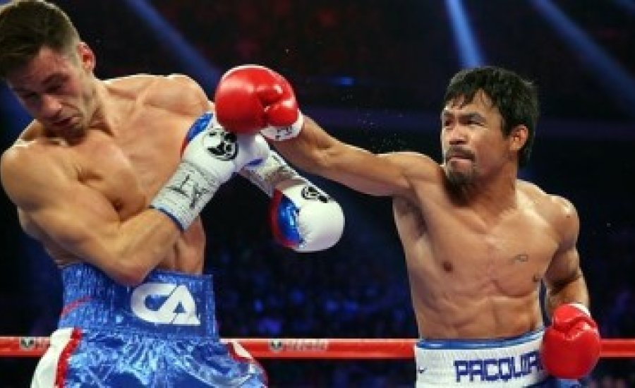 Pacquiao simán, de nem KO-val nyert