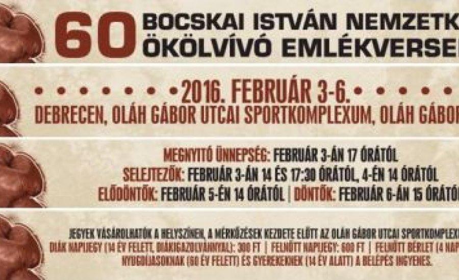 Két világ-, és hét Európa-bajnok szerepel az idei Bocskain