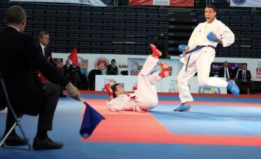 Sporttörténelmi karate bronz a régiók Eb-jén