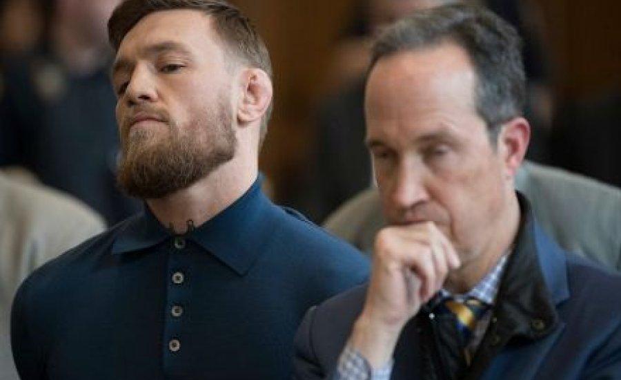 Conor McGregor bűnösnek fogja vallani magát