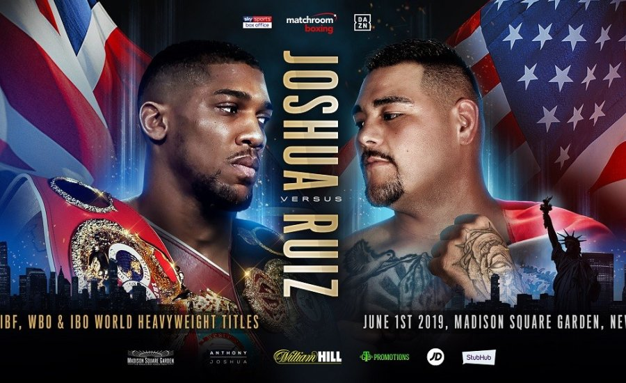Anthony Joshua vs Andy Ruiz Jr kedvcsináló