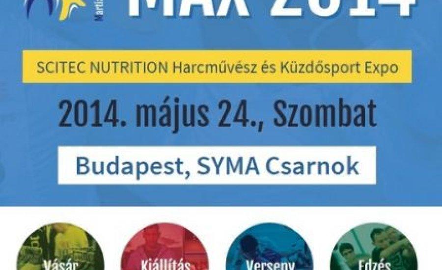 BoxingONE mérkőzés a szombati MAX2014 Expón