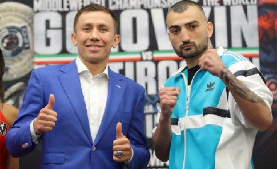 Golovkin és Martirosyan mérlegelt