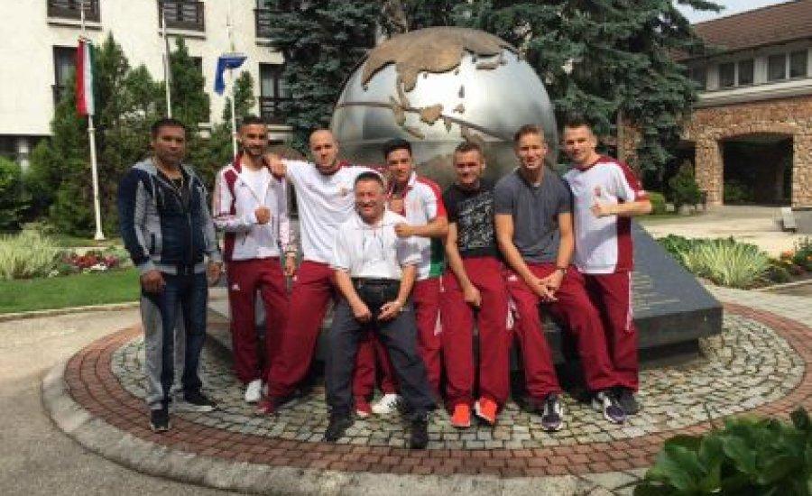 Hét öklözőnk elindult Bakuba az olimpiai világselejtezőre
