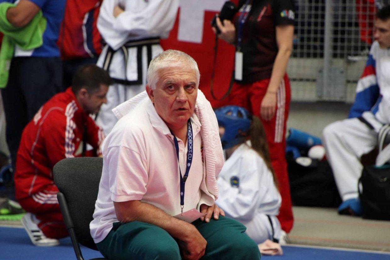 Tamás József 5 danos ITF taekwon-do mester