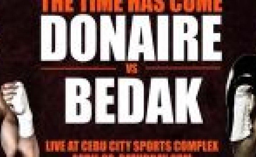 Donaire-Bedák promo (video)