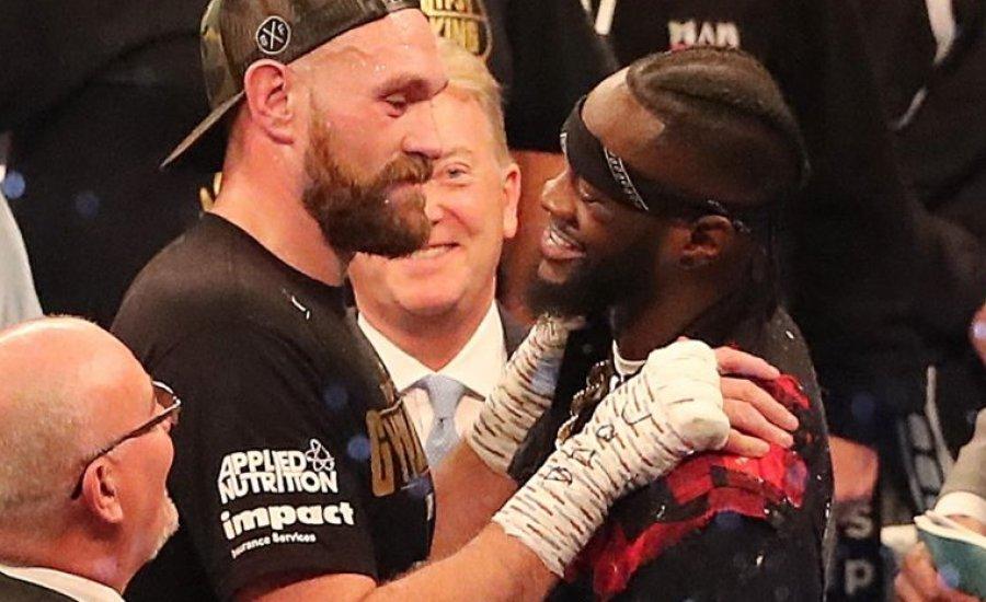 Tyson Fury nyert, és lényegében bejelentették a Wilder elleni küzdelmet