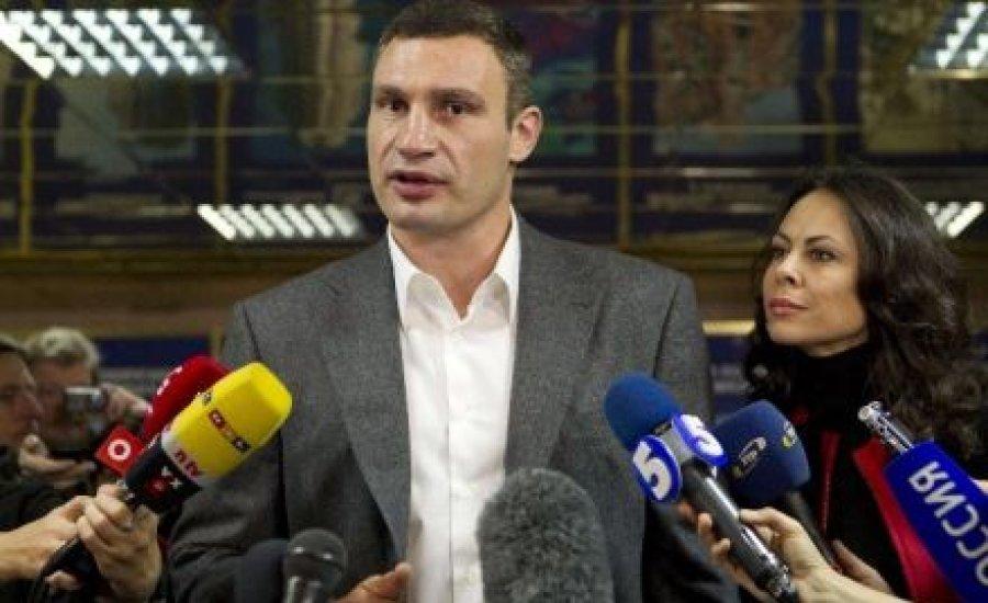 Az asszony nyugdíjba küldené Vitalij Klicskót