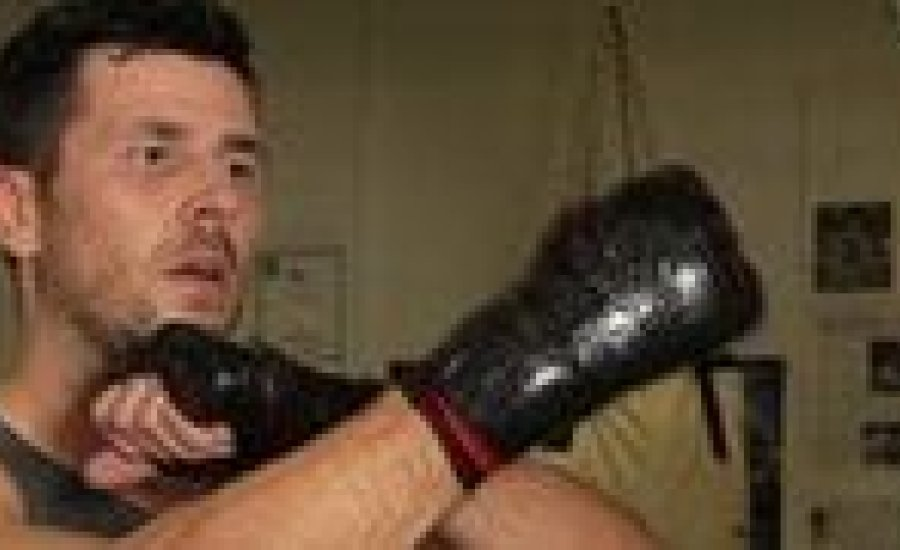 Darren Barker edzésvideó