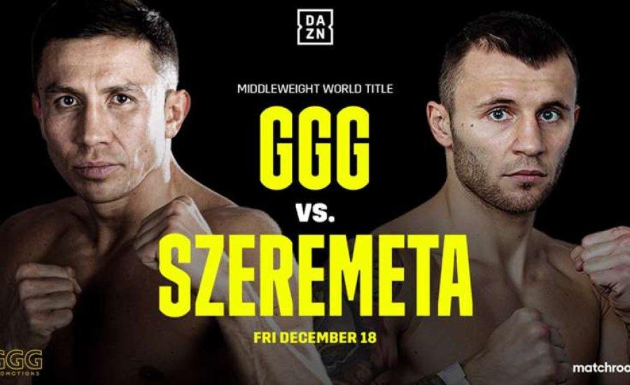 Bejelentették Gennady Golovkin visszatérő mérkőzését