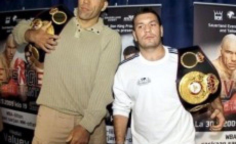 Egy héten belül Valujev egyedüli bajnok lehet