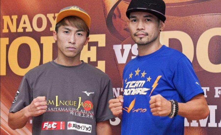 Inoue és Donaire is győzelemre készül