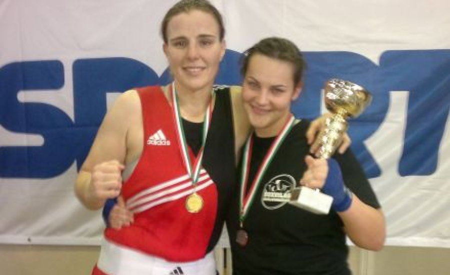 Kovács Mária aranyérmes a női boksz ob-n