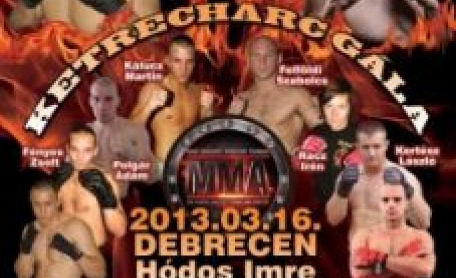 Négyen csatáznak a 86 kilogrammos MMA-tornán