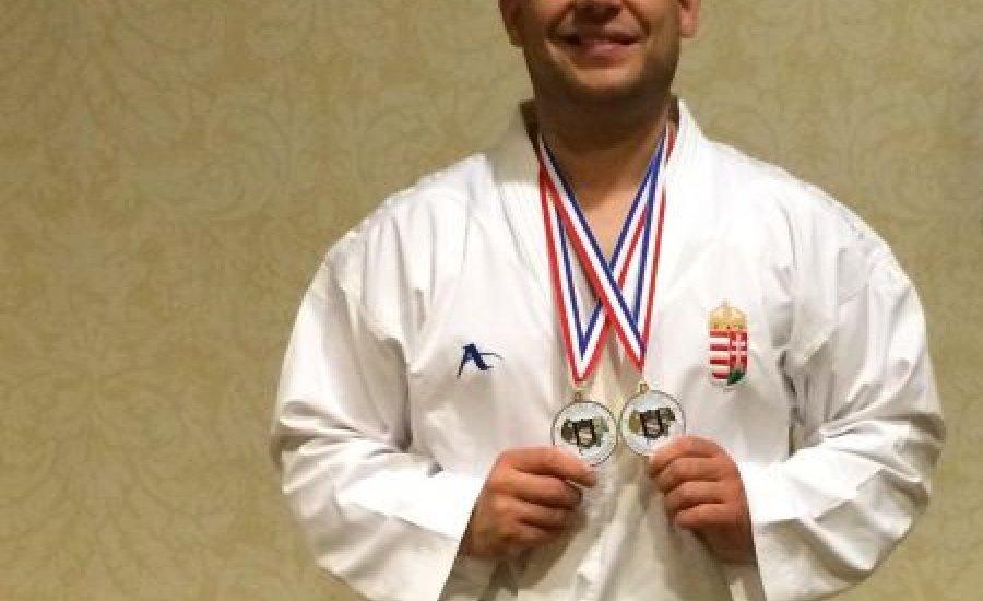 Karate: Nádas Tamás világbajnok