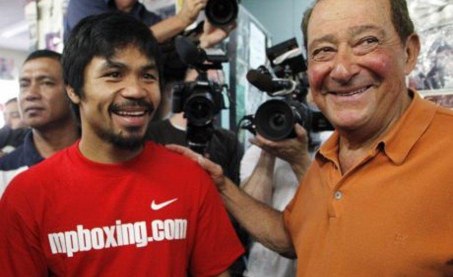 Bob Arum: lépj tovább Pacquiao