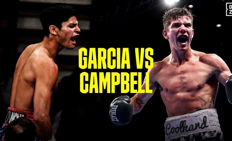 Ryan Garcia vs. Luke Campbell promó