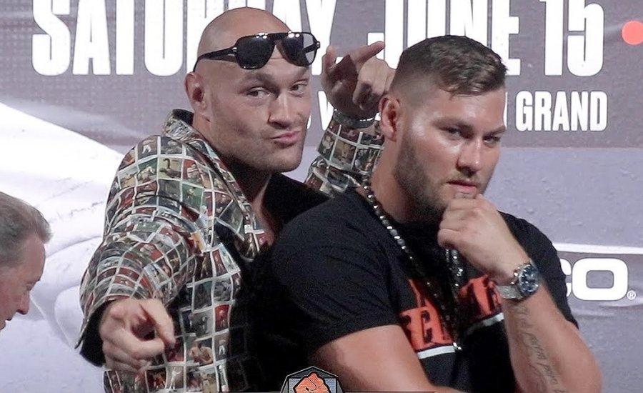 Pózolás LEVEL 100: Fury vs Schwarz