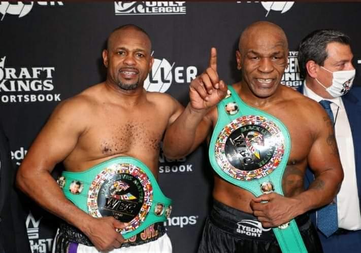 WBF Frontline Belts - Tyson vs Jones