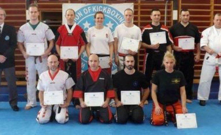 Kick-box DAN vizsgák Budapesten