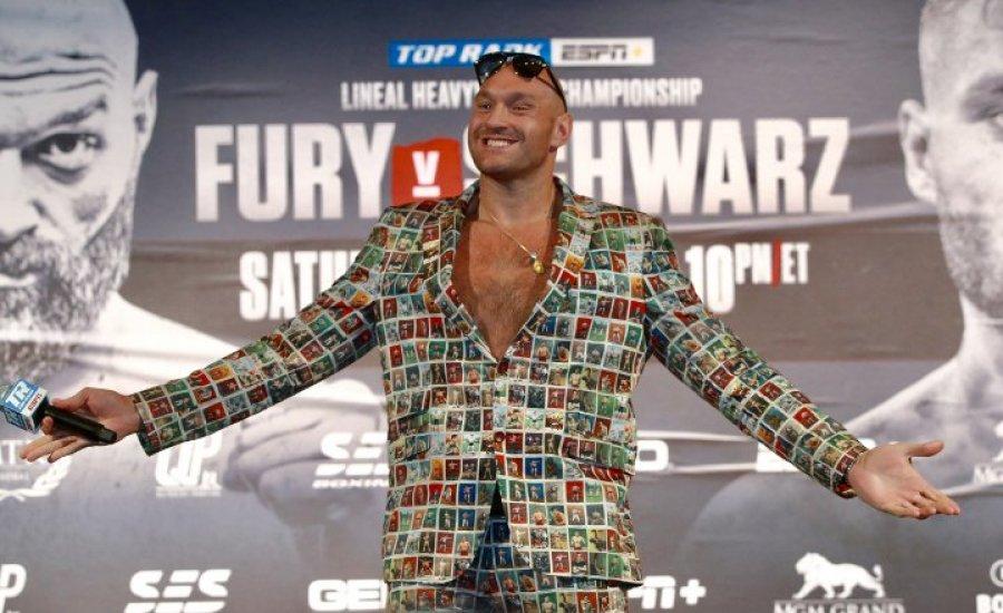 Tyson Fury 50 millió dollárért sem állna félre